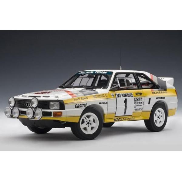 アウディ ミニカー AUTOart 1/18 Stig Blomqvist/Bjorn Cederberg #1 Audi Sport Quattro: 1985 Rally... 輸入品|dean-store