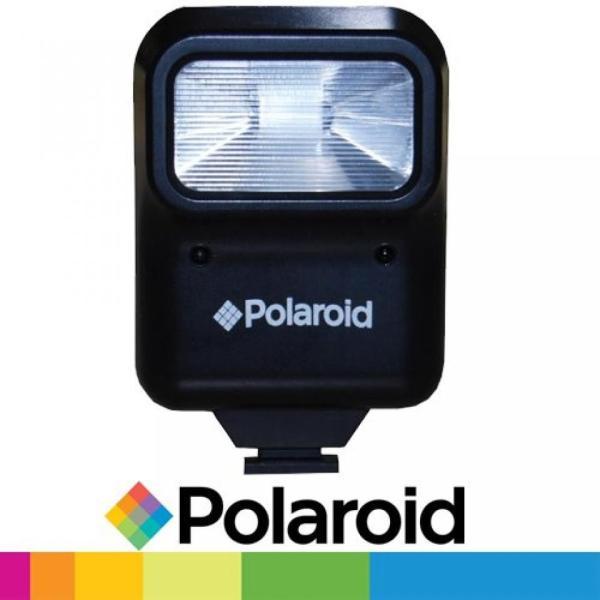 【送料無料】ポラロイド Polaroid Studio Series Pro Slave Flash Includes Mounting BracketFor The Leica V-LUX 2, D-LUX 5 Digital Cameras 輸入品