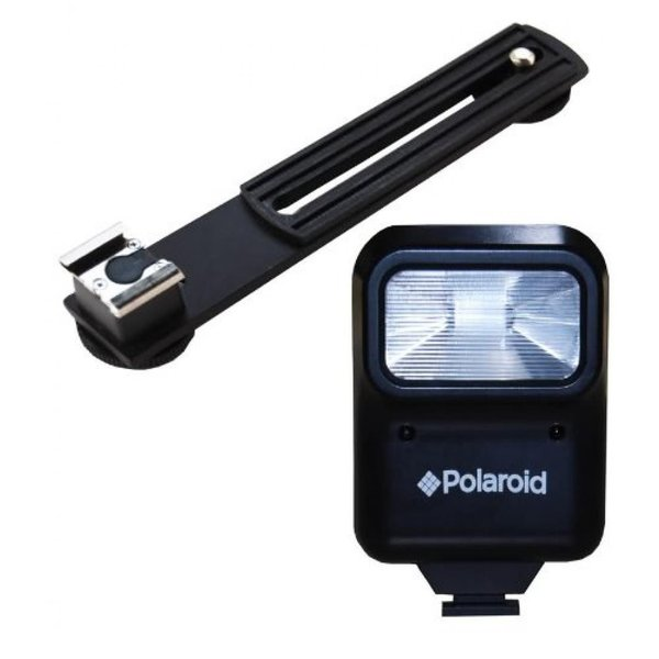 ポラロイド Polaroid Studio Series Pro Slave Flash Includes Mounting Bracket For The Sony Alpha NEX-C3, 7, 6, 5N, 5R, 5T, 5, 3, 3N, F3,