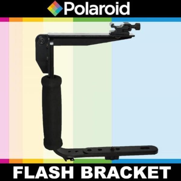 【送料無料】ポラロイド Polaroid Flip Mount Flash Bracket For The Panasonic Lumix DMC-G3, DMC-GF3, DMC-G1, DMC-GH1, DMC-GH2, DMC-GH3, DMC-GH4,