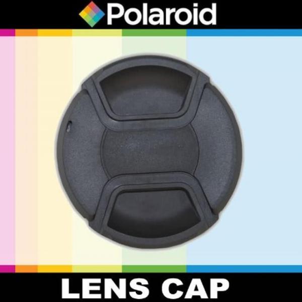 ポラロイド Polaroid Studio Series Snap Mount Lens Cap For The Canon Digital EOS Rebel T3, T3i, T1i, T2i, XSI, XS, XTI, XT, 60D, 50D, 40D,