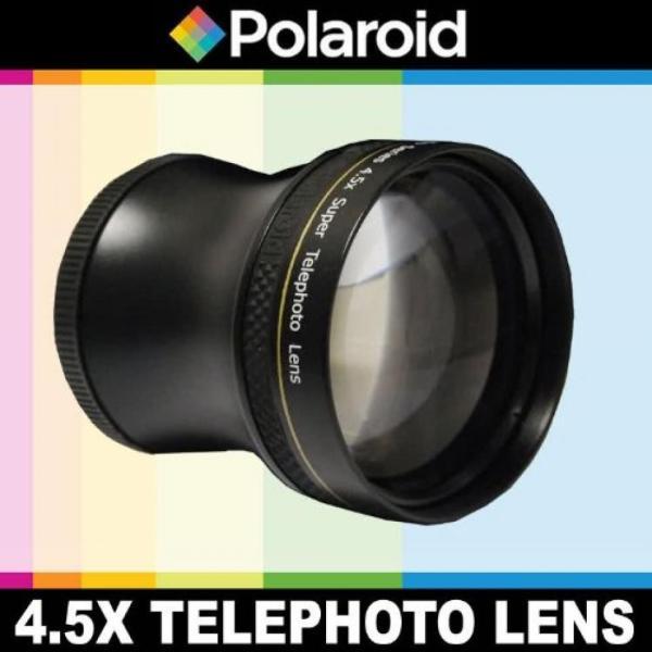 【送料無料】ポラロイド Polaroid Studio Series 4.5x Super Telephoto Lens, Includes Lens Pouch and Cap Covers For The Pentax K-X, K-7, K-5, K-R, 645D,