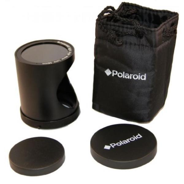 ポラロイド Polaroid 58mm HD Right Angle Mirror (SPY) Lens For The Sony Alpha NEX-C3, 7, 6, 5N, 5R, 5T, 5, 3, 3N, F3, SLT-A33, A35, A37,