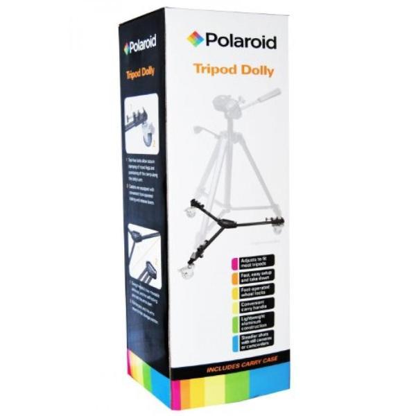 ポラロイド Polaroid Universal Foldable Tripod Dolly With Handle And Deluxe Carrying Case For The Panasonic Lumix DMC-G3, DMC-GF3, DMC-G1,