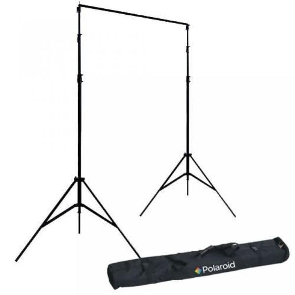ポラロイド Polaroid Pro Studio Telescopic Background Stand Backdrop Support System Includes Deluxe Carrying Case For The Canon Digital