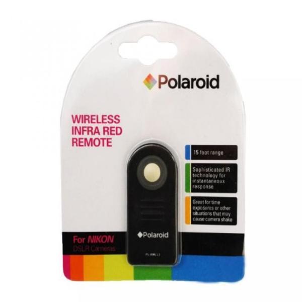 ポラロイド Polaroid Wireless Infrared Remote Control With Protective Case For The Nikon SLR D40, D40X, D50, D60, D70, D70S, D80, D90,