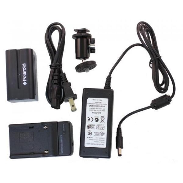 ポラロイド Polaroid Studio Series 256 LED Video Light Panel For Digital SLR Cameras & Camcorders For The Panasonic SDR-S70, H100, T70,