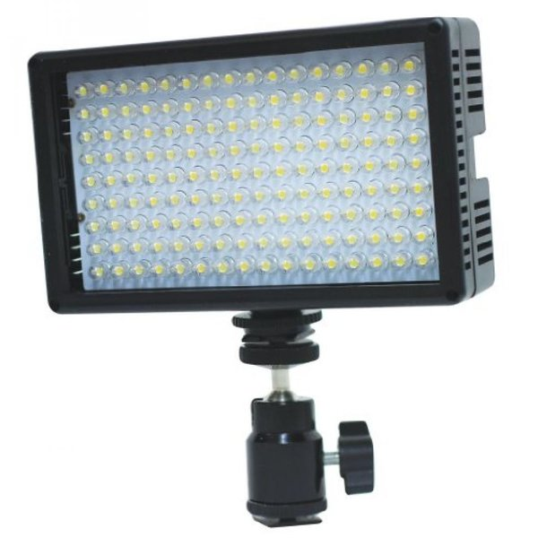 ポラロイド Polaroid 144 Ultra High Powered Super Bright LED Camera / Camcorder Video Light With Variable Color Temp. (3200K-5600K) &