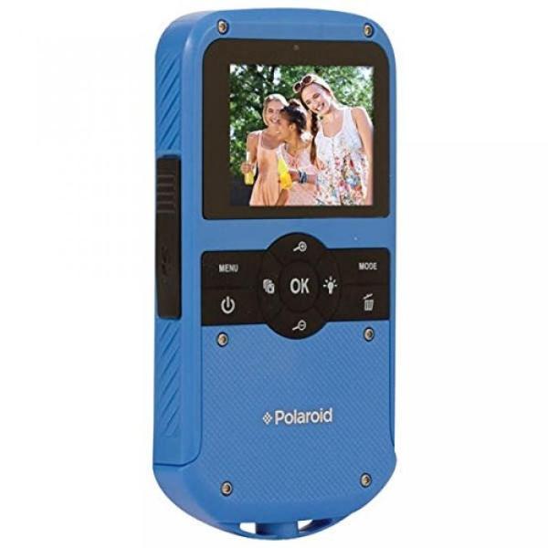 ポラロイド POLAROID ID610-BLU 1.3 Megapixel All-weather Digital Camcorder (Black) 輸入品