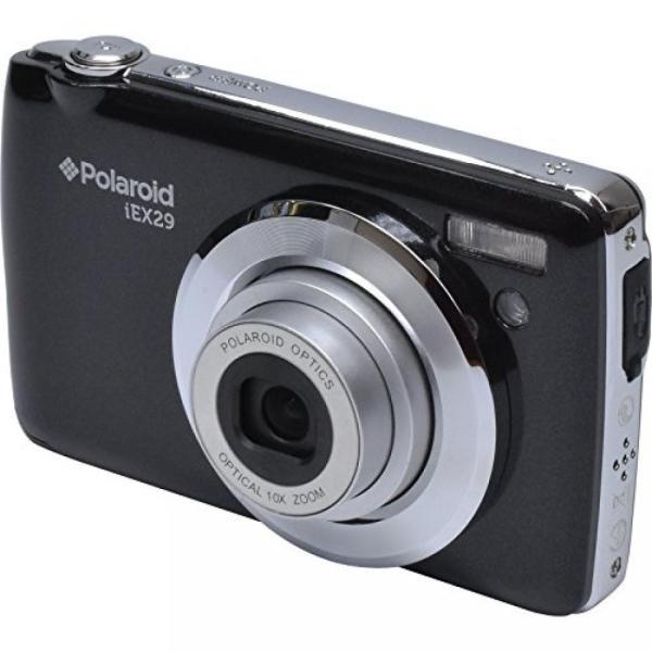 ポラロイド Polaroid iEX29 18 Megapixel Optical Zoom Digital Camera (Black) 輸入品