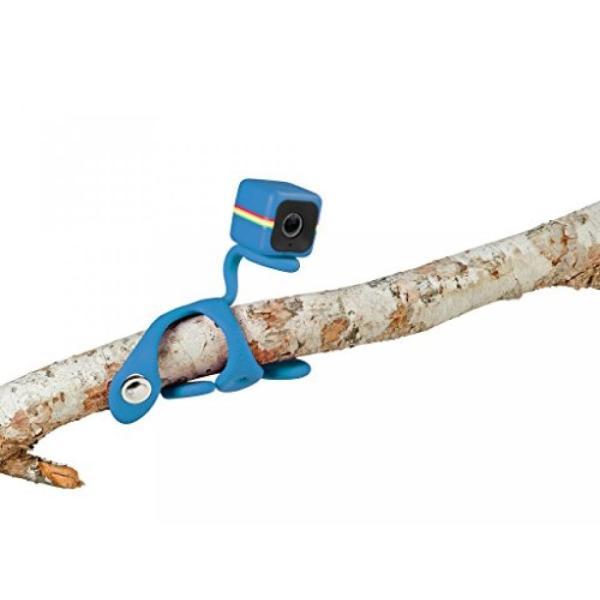 ポラロイド Polaroid Flexi-Pod Tripod/Mount for Polaroid CUBE, CUBE+ HD Action Lifestyle Camera - Blue 輸入品