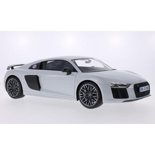 アウディ ミニカー Audi R8, metallic-hellgrau/Carbon, 2015, Model Car, Ready-made, Premium ClassiXXs 1:12 輸入品|dean-store