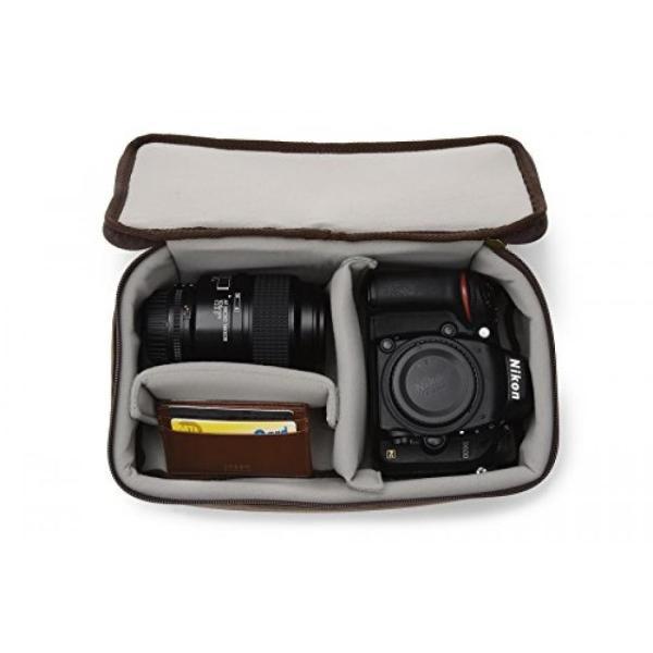 カメラバッグ ONA - The Clifton - Camera Backpack - Antique Cognac Leather (ONA046LBR) 輸入品|dean-store|02