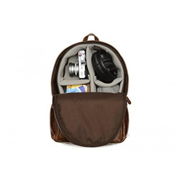 カメラバッグ ONA - The Clifton - Camera Backpack - Antique Cognac Leather (ONA046LBR) 輸入品|dean-store|04