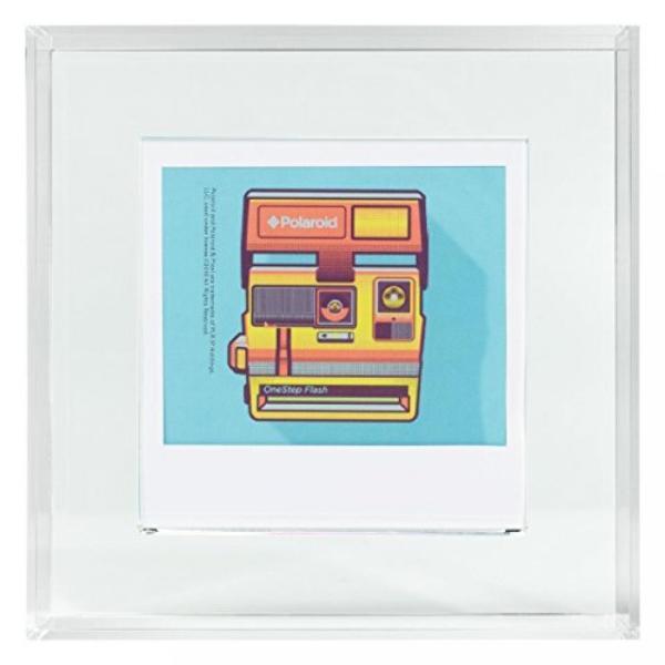 ポラロイド Polaroid Photo Acrylic Frame, 4x4, Clear 輸入品