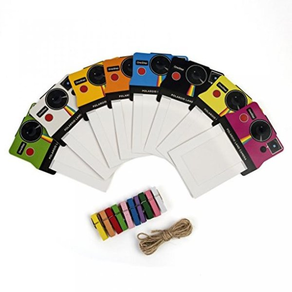 """ポラロイド Polaroid ZIP Mobile Printer Gift Bundle + ZINK Paper (30 Sheets) + 8x8"""" Cloth Scrapbook + Pouch + 6 Edged Scissors + 100"""