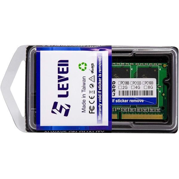 メール便送料無料LEVEN ノート用メモリ DDR3L(Low voltage)1.35V 1600 PC3-12800 204Pin JR3S1600172308-8M 国内永久保証(国内正規品)