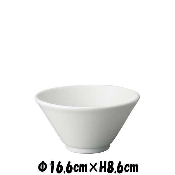 切立深口5.5丼 白 どんぶり丼 陶器磁器の食器 おしゃれな業務用和食器 お皿中皿深皿|deardishbasara
