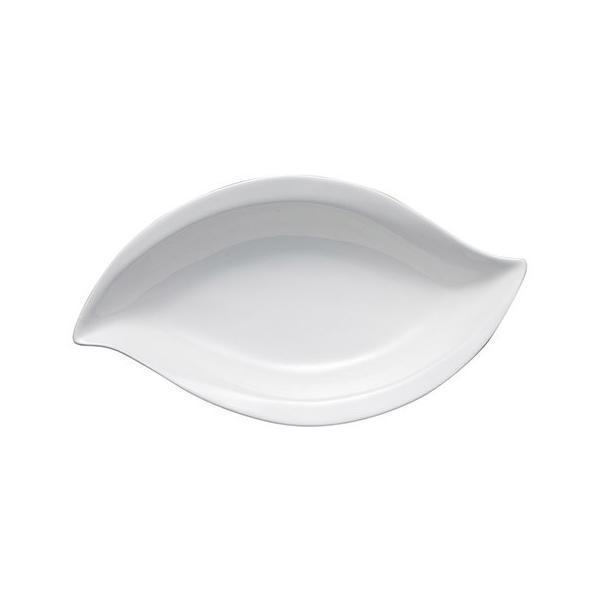 Bowls 36cmリーフボール 白い陶器磁器の食器 おしゃれな業務用洋食器 お皿特大皿深皿|deardishbasara|02