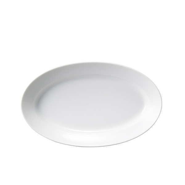 Buffet 18cmパエリアプラター 白い陶器磁器の食器 おしゃれな業務用洋食器 お皿中皿平皿|deardishbasara|02