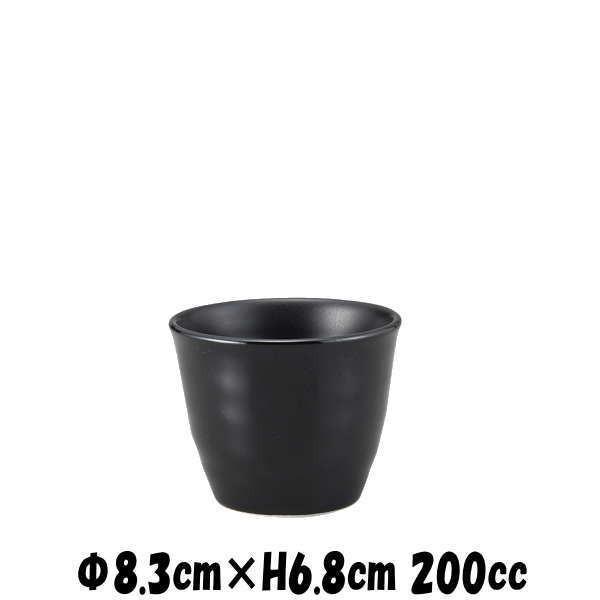 BKカップ 黒 酒器焼酎カップ焼酎ロック そば猪口そばちょこ  陶器磁器の食器 おしゃれな業務用和食器 deardishbasara