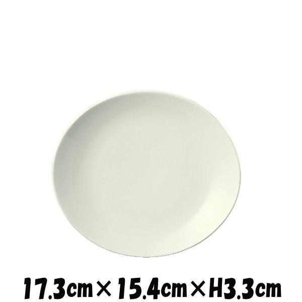 OV 17cm深皿 白い陶器磁器の食器 おしゃれな業務用洋食器 お皿中皿平皿|deardishbasara