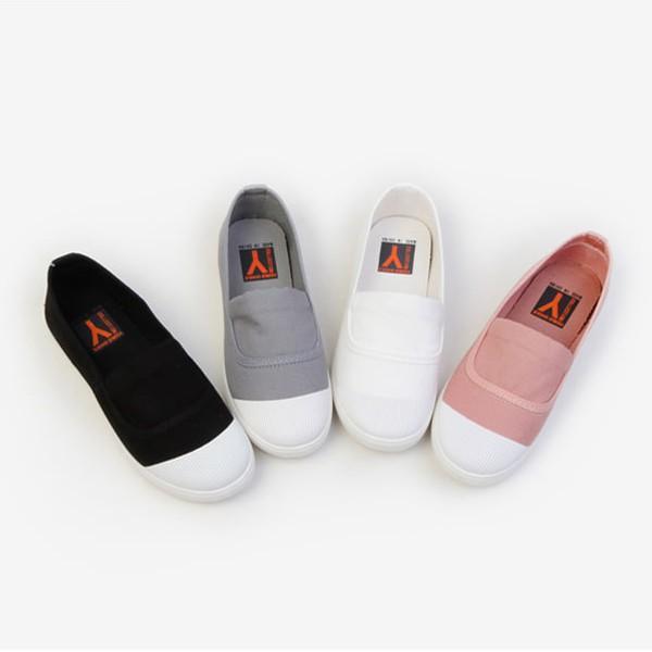 スリッポン レディース スニーカー ブラック 黒 ホワイト 白 ピンク シンプル カジュアル 婦人靴 レディースシューズ