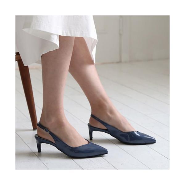 サンダル レディースシューズ ローヒール シルバー ブラック  バックストラップ ホワイト 靴 歩きやすい ネイビー