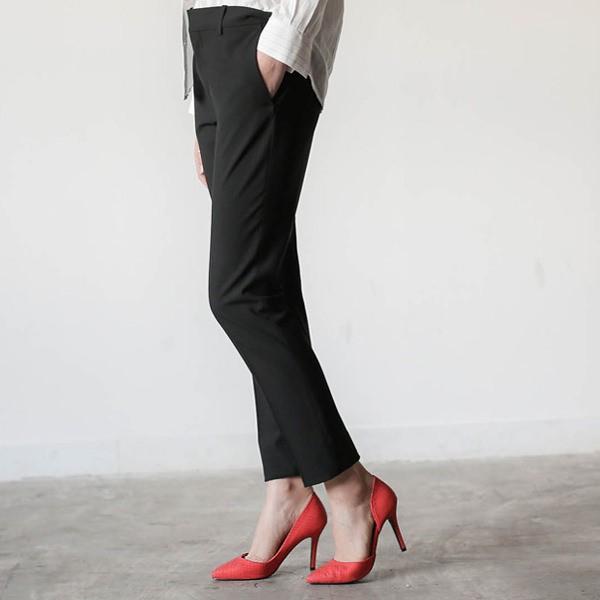 パンプス ポインテッドトゥ ハイヒール クロコダイル柄 黒 ブラック レッド レディースシューズ  婦人靴 痛くない 結婚式