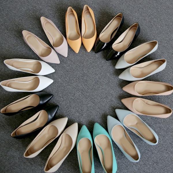 パンプス ローヒール スティレットヒール 黒 ブラック ピンク エナメル ポインテッドトゥ レディース 靴 婦人靴 歩きやすい 痛くない