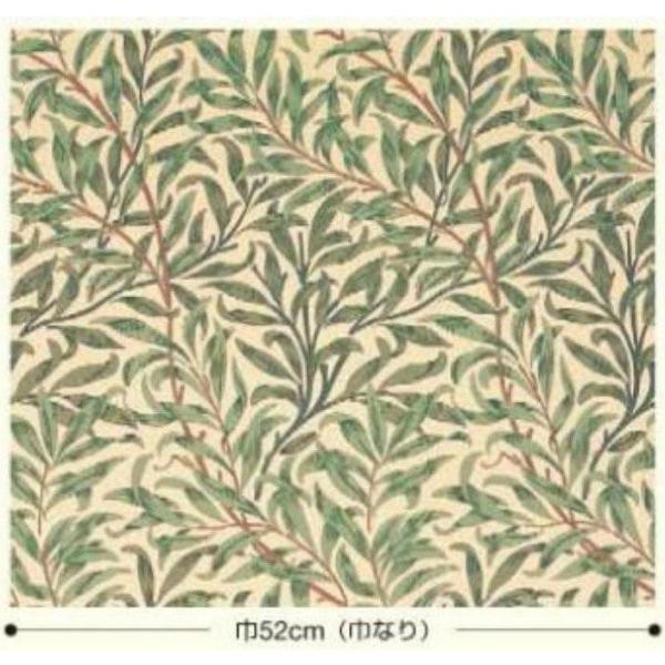 輸入壁紙 ウィリアムモリス ウィローボウ(2色) 紙壁紙 (10m/1ロール単位で販売) LW-2545(ブルー) LW-2546(グリーン)|decoall|02