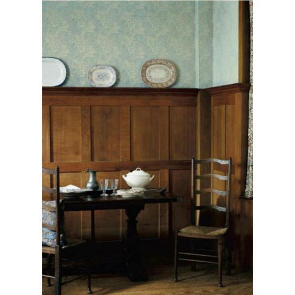 輸入壁紙 ウィリアムモリス マリーゴールド(ブルー)LW-2548 紙壁紙 (10m/1ロール単位で販売)国内在庫品|decoall|02