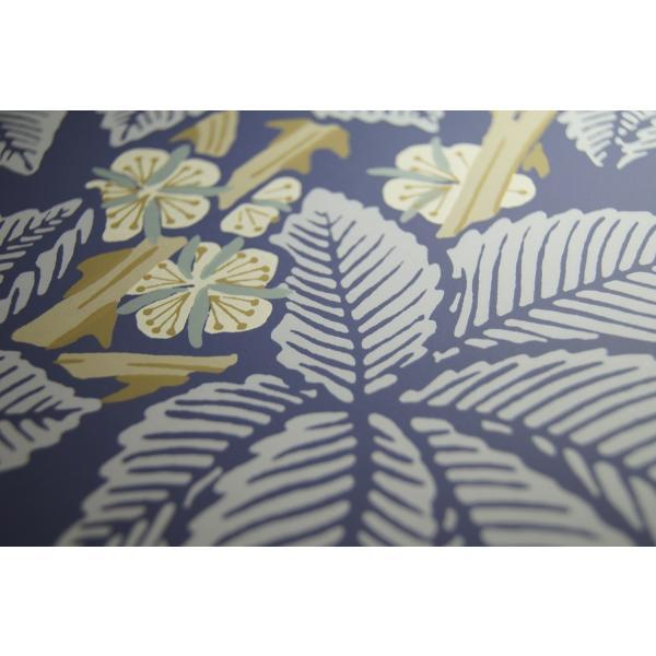 ウィリアムモリス 壁紙 ブランブル(BRAMBLE) インディゴブルー 輸入品 decoall 03
