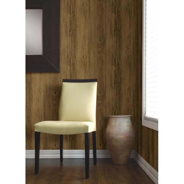 輸入壁紙  ESPOIR NEW AGE  国内在庫 2767-01442 ブラウン 木目調 BREWSTER テシード DIY |decoall|02