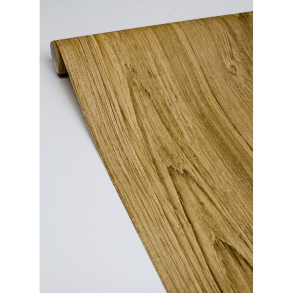 輸入壁紙  ESPOIR NEW AGE  国内在庫 2767-01442 ブラウン 木目調 BREWSTER テシード DIY |decoall|03