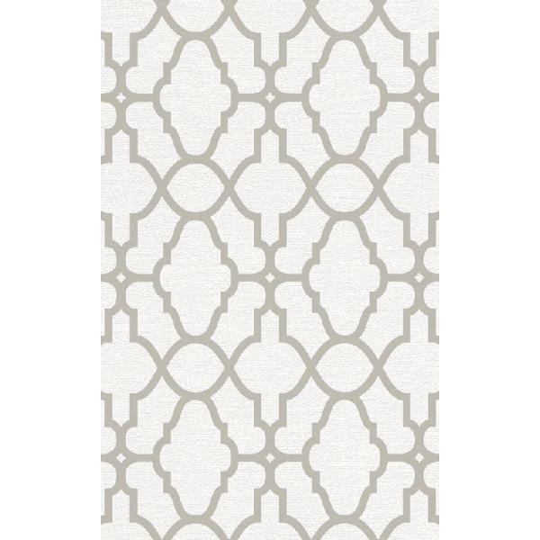 rasch 2020 輸入壁紙 309317 ホワイト 白 ゴールド 幾何学 モダン クロス 10m巻 DIY はがせる ドイツ製  国内在庫品 decoall
