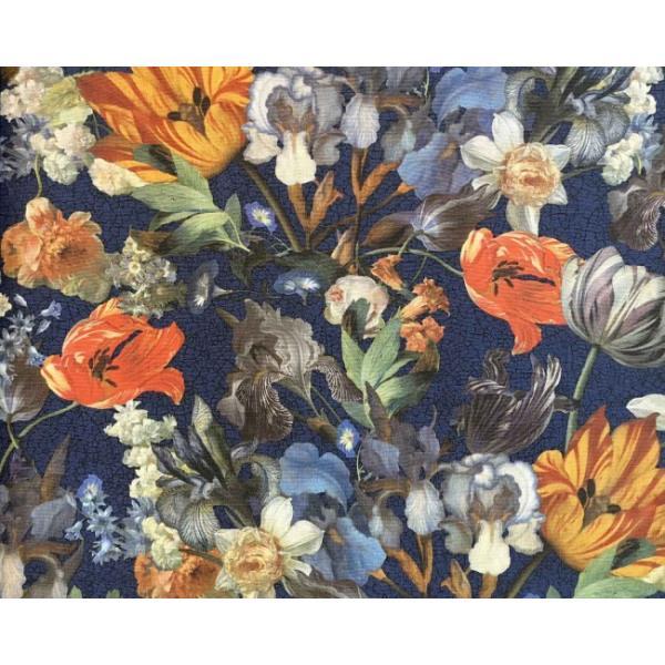 輸入壁紙 MASTERPIECE 花柄 ネイビー 358012|decoall|02