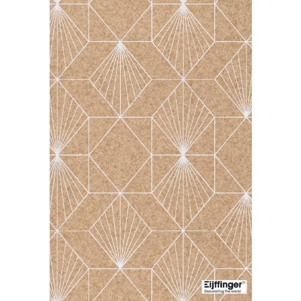 輸入壁紙  FUSION 366081  テシード 幾何学 サンドベージュ ゴールド モダン  国内在庫品 クロス はがせる 10m巻 壁紙 |decoall|02