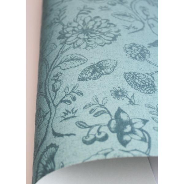 PIPSTUDIO4  375012 輸入壁紙 花 鳥 動物 昆虫 ブルー 青  DIY 貼ってはがせる オランダ製 10m巻|decoall|03