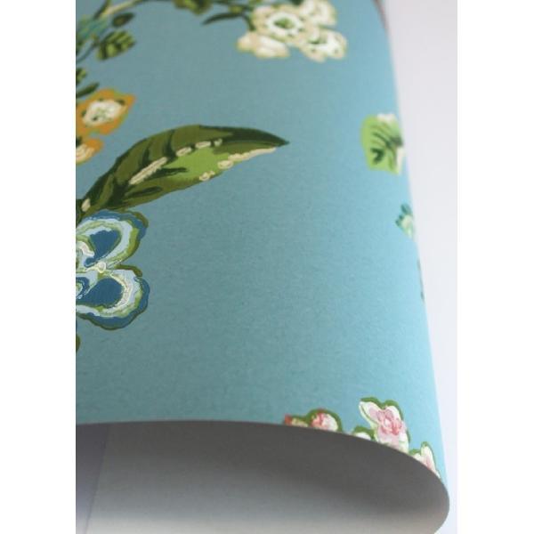 PIPSTUDIO4  375062 輸入壁紙 花 鳥 ブルー 青 ボタニカル  DIY 貼ってはがせる オランダ製 10m巻|decoall|02