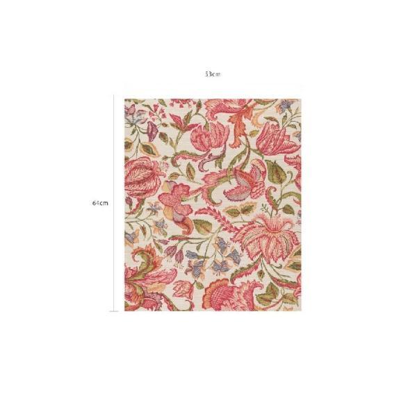 輸入壁紙  FUSION 375101  テシード フラワー レッド オレンジ ホワイト  国内在庫品 クロス はがせる 10m巻 壁紙 |decoall|04
