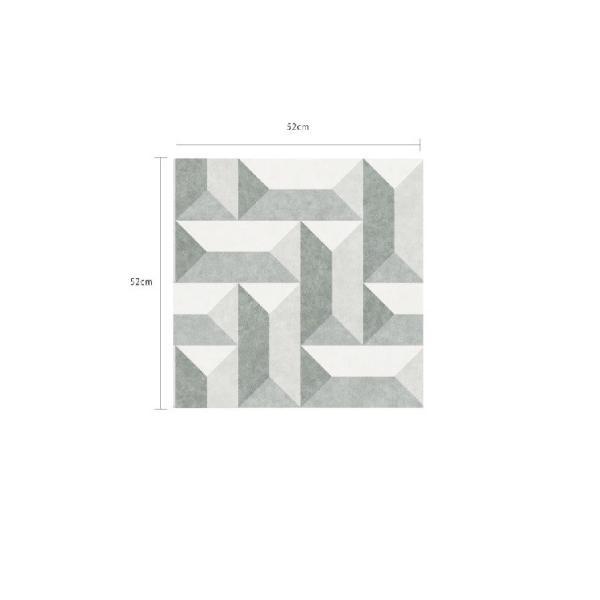 輸入壁紙  FUSION 382572  テシード 幾何学 ブルー グリーン ベージュ モダン  国内在庫品 クロス はがせる 10m巻 壁紙 |decoall|03