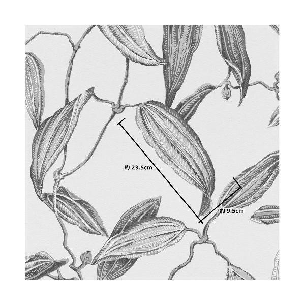 rasch 2020 輸入壁紙 525748 ブルーグレー レッド 赤 花 植物 クロス 10m巻 DIY はがせる ドイツ製  国内在庫品|decoall|04