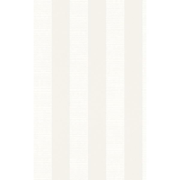 rasch 2020 輸入壁紙 532319 ホワイト 白 アイボリー ストライプ クロス 10m巻 DIY はがせる ドイツ製  国内在庫品 decoall