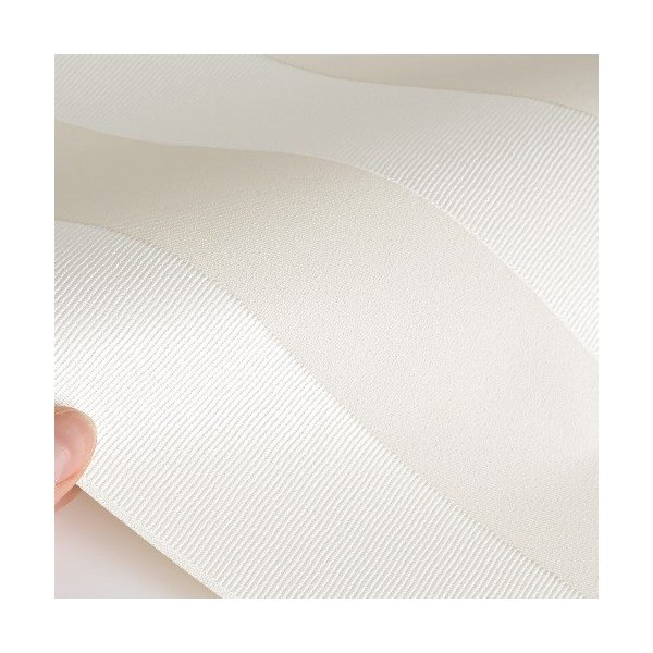 rasch 2020 輸入壁紙 532319 ホワイト 白 アイボリー ストライプ クロス 10m巻 DIY はがせる ドイツ製  国内在庫品 decoall 02
