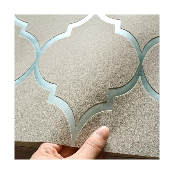 輸入壁紙 rasch2019 ラッシュ シノワズリ 幾何学 ジオメトリック グレー 国内在庫品 701623 クロス 10m DIY ドイツ製|decoall|03