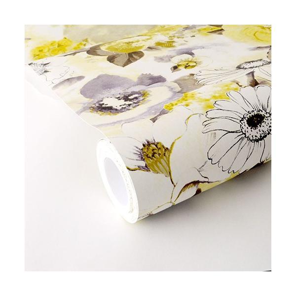 輸入壁紙 rasch2019 ラッシュ 花柄 シノワズリ 黄色 国内在庫品 803532 クロス 10m DIY ドイツ製|decoall|02