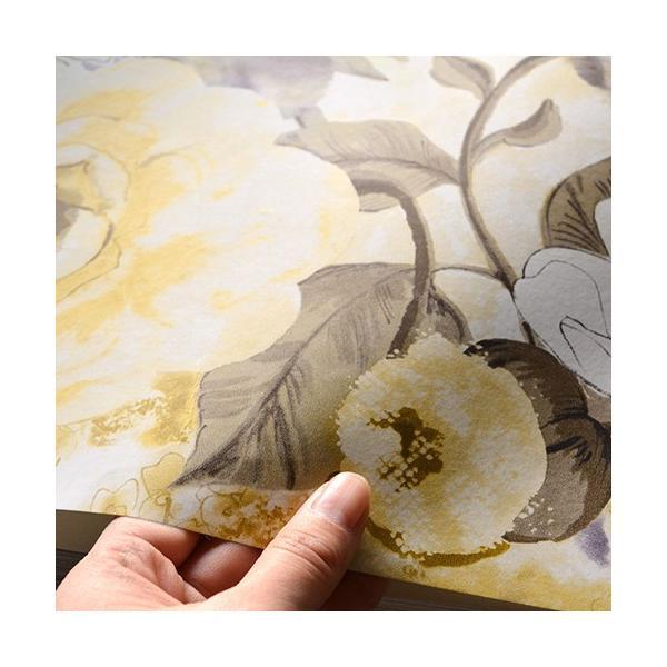 輸入壁紙 rasch2019 ラッシュ 花柄 シノワズリ 黄色 国内在庫品 803532 クロス 10m DIY ドイツ製|decoall|03