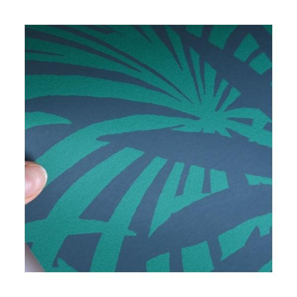 はじめてセット rasch 2020 輸入壁紙   525946 グリーン ネイビー 緑 葉っぱ クロス 10m巻 DIY は がせる ドイツ製  国内在庫品|decoall|03