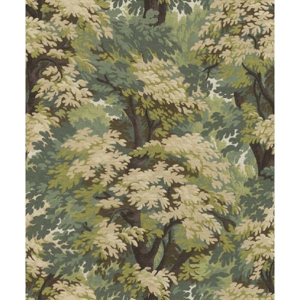 はじめての輸入壁紙DIYセット ドイツrasch(ラッシュ) 森林柄 密林 フォレスト 緑 グリーン 528220 クロス DIY rasch2019 はがせる|decoall
